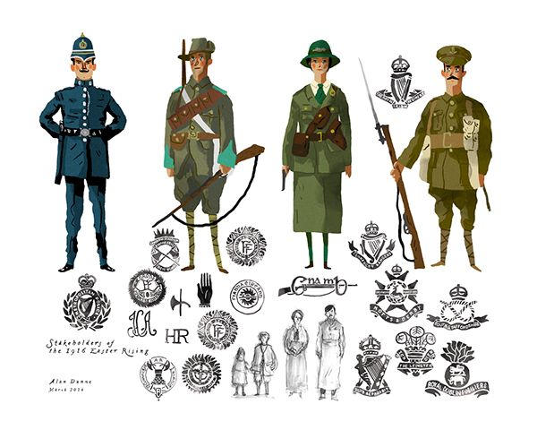Stakeholders of the 1916 Easter Rising