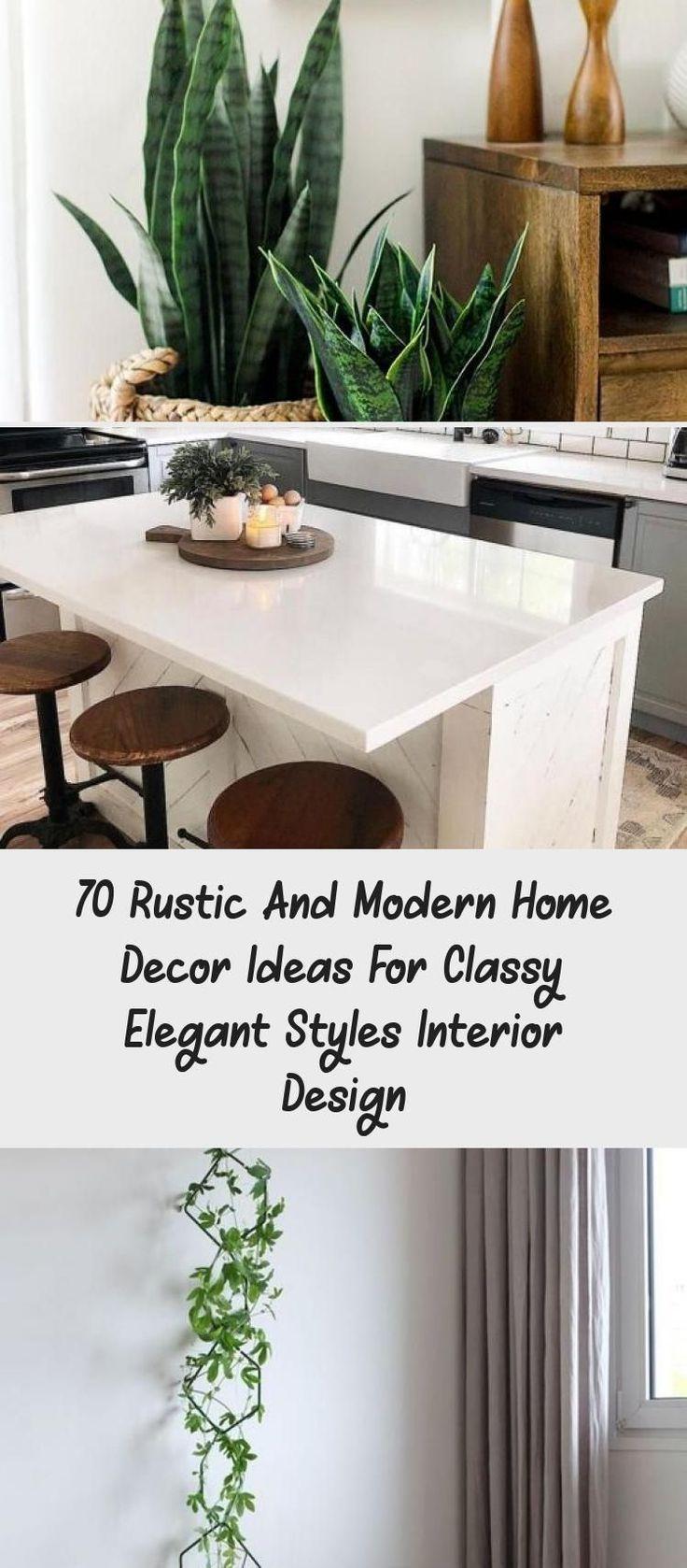 70 rustikale und moderne Wohnkultur Ideen für elegante ...