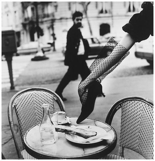Hand in Shoe, Paris, 1991