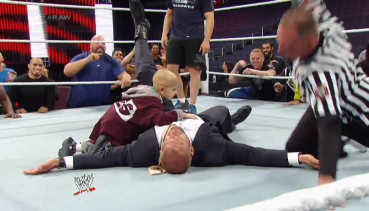 THIS is real wrestling.... WWE's Tribute To 'Stone Crusher' Connor Michalek Will Break Your Entire Heart