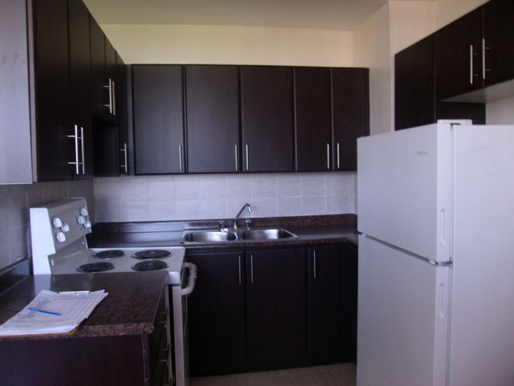 Fully renovated kitchens with new appliances  www.prestonapartments.ca
