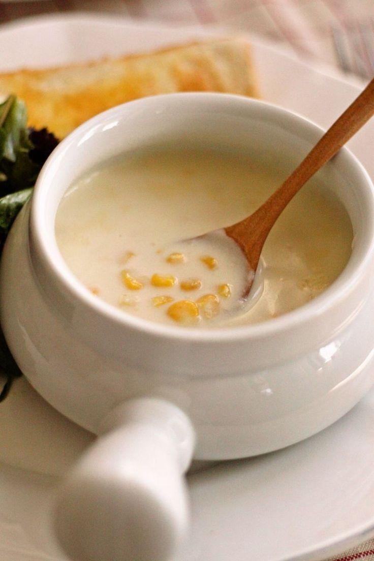 母の味、コーンクリームスープ [レシピ] by Yoshiko Sullivan