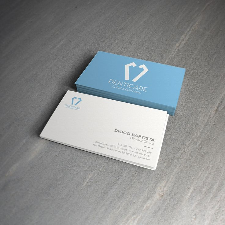 Dental Business Card Design | project #9 Dentist clinica ...