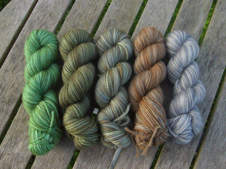Camo Drops Petite Collection - Red Riding Hood Yarns