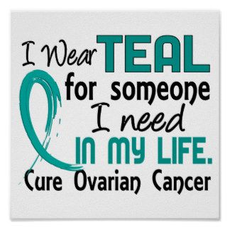 ovarian cancer awareness wear teal for myself & all fighting this terrible disease