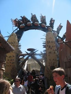 Phantasialand amusement park in Bruhl, Germany - land of the amazing Black Mamba. LOVE that ride!
