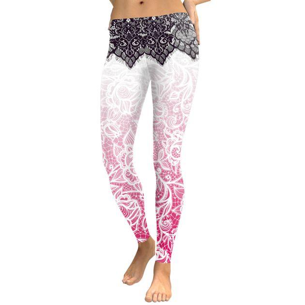 Legging Sport Gym Yoga Dentelle #leggings #legs #leging #leggin #mandala #yoga #inspiration #sport #danse #dance #meditate #meditation #dentelle