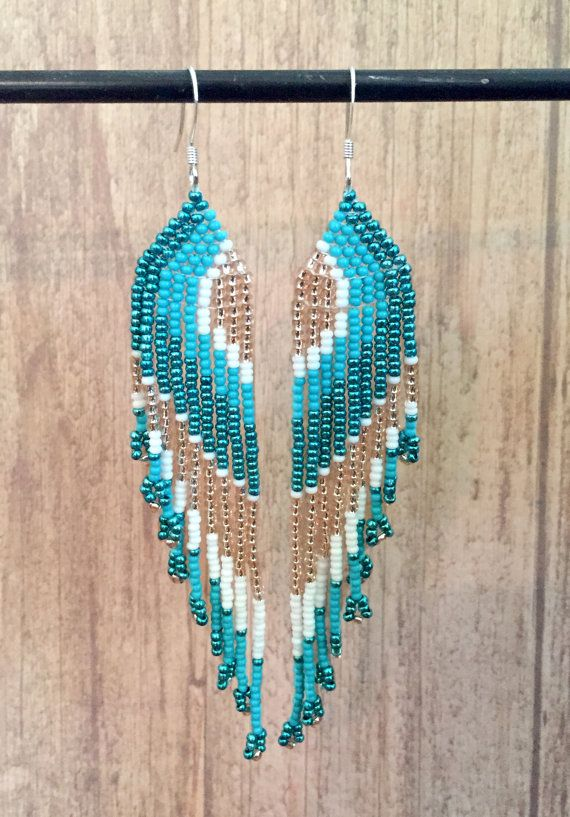 25+ unique Seed bead earrings ideas on Pinterest | Beaded ...