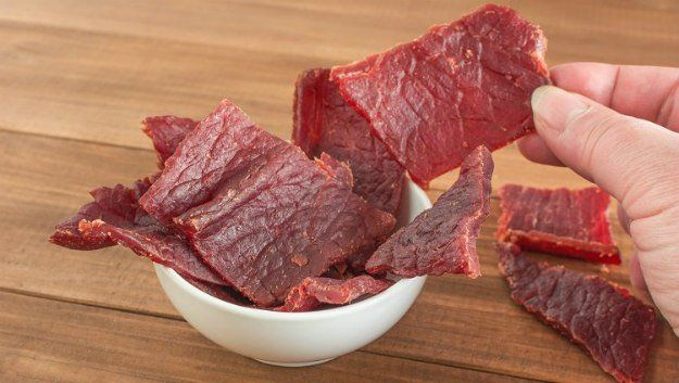 Making Beef Jerky: How To Preserve Meat For Survival   https://survivallife.com/making-beef-jerky-home/
