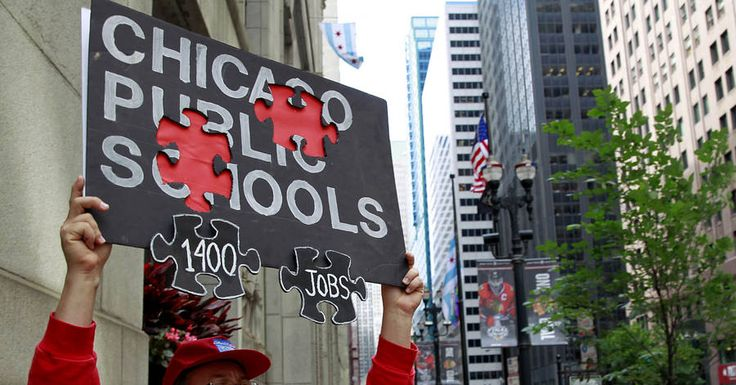 Republicans Won't Let Chicago's School Crisis Go to Waste -- In exchange for bailing out the Windy City, Illinois's Gov. Rauner wants a serious voucher program.