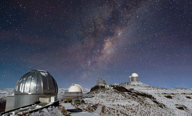 Night time view of La Silla | ESO United Kingdom