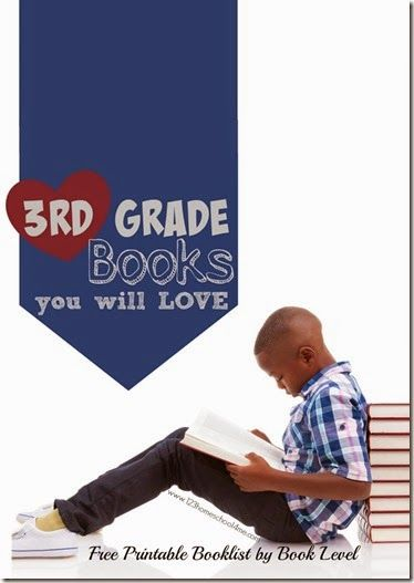 3rd Grade Books - A GREAT list with tons of really good books kids and parents alike will like! Includes free printable 3rd grade book list arranged by book level.