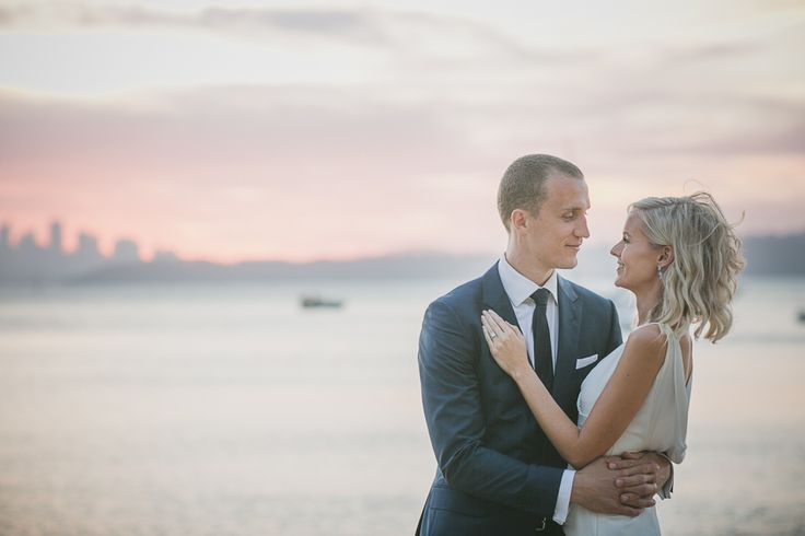 Ella + Ted | Watsons Bay Boutique Hotel waterfront wedding | Beach Club