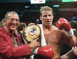 Former boxing champion Tommy Morrison died Sunday night at 44, his former promoter said. In February 1996 Morrison was suspended by the Nevada Athletic Commission after having tested positive for HIV. (via Tulsa World)