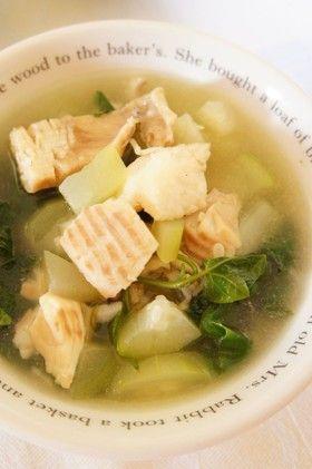 魚と瓜のスープ@カンボジア