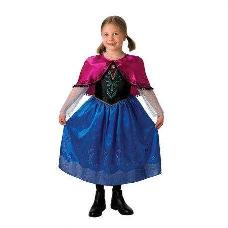 #Disfraz #Princesa #Anna #Frozen Ideal para fiestas o realizar un bonito regalo. Mercadisfraces tu #tienda de #disfraces #online