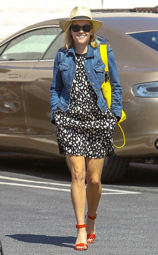 Блондинка в законе: Уличный стиль Риз Уизерспун