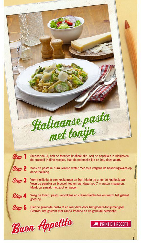 Italiaanse pasta met tonijn - Lidl Nederland