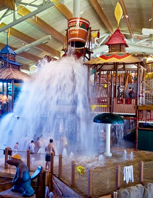 America's largest family of indoor water park-hotels, Great Wolf has 12 lodges to its name. But currently, the only West Coast location is in Grand Mound, drawing much of its attendance from nearby Seattle.  (Courtesy Great Wolf Lodge)