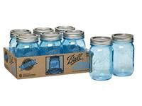 New limited edition blue jars from Ball! - Ball Heritage Collection Pint Jar $12.99 for 6 jars