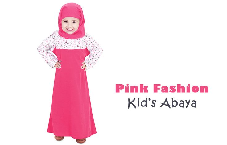 Pink Fashion Kids Abaya ZKA-001 by Zet Zone | Shop Now » https://www.zetzone.com/kids/islamic-kids-wear/Kids-Abaya/Dark-Pink-Beauty-Abaya #StylishAbaya #KidsAbaya #KidsWear #IslamicClothing #KidsFashion #MuslimFashion