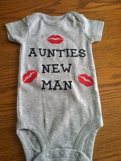 Auntie onesie by AbbeysAlley on Etsy