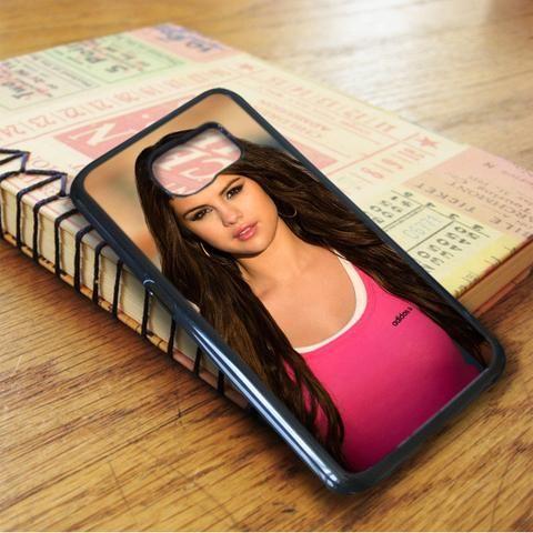 Pink Adidas Selena Gomez Samsung Galaxy S7 Edge Case
