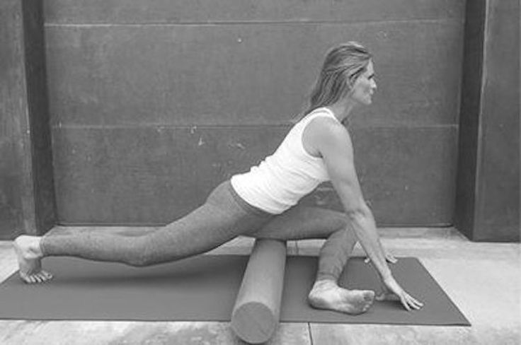 Easy pelvic floor exercises and foam roller routine: This move can help reduce low back and hamstring tension and pain.