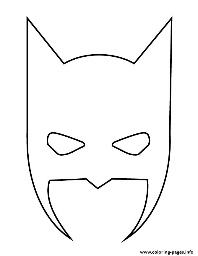 Print Batman Mask Halloween Stencil Coloring Pages Batman Printables Ideas Of Batman Printables Batman Halloween Stencils Batman Mask Batman Mask Template