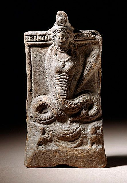 Isis with a Serpent Tail    Egypt, 2nd century AD    The Los Angeles County Museum of Art