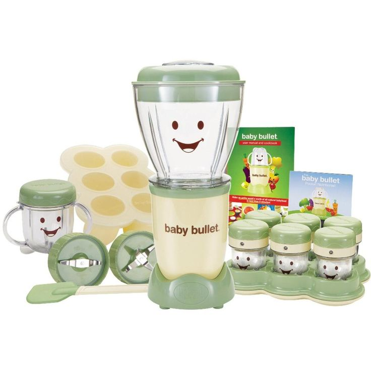 As Seen on TV Baby Bullet Fresh Natural Organic Baby  Food Maker, 20-Piece Set