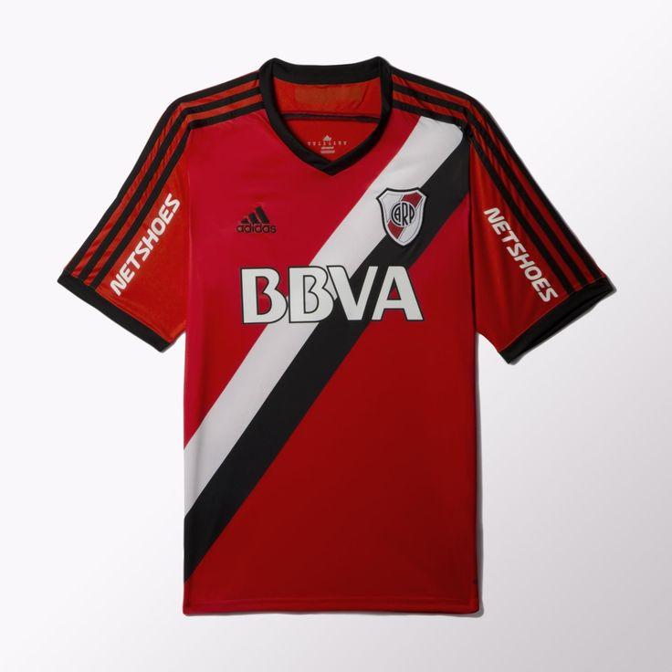 adidas Camiseta de Fútbol Suplente River Plate 2015 - Rojo | adidas Argentina