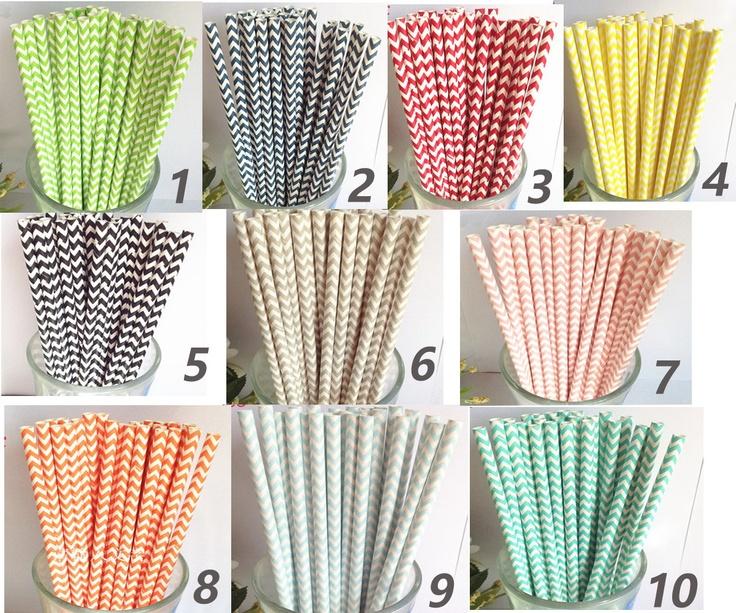 Colored Paper Cake Pop Sticks