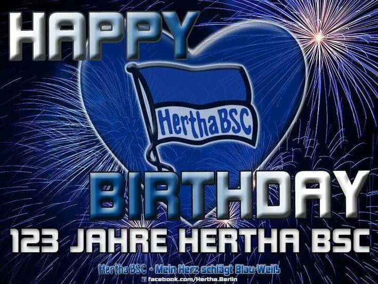 123 Jahre Hertha BSC