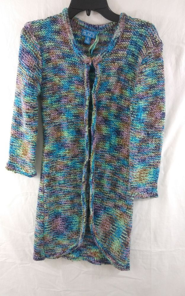 The Children's Place Girls Size 7-8 Long Cardigan Sweater TCP #TheChildrensPlace #Cardigan #DressyEverydayParty