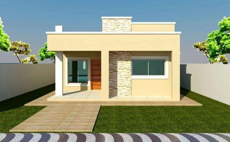 Busca Las Las Mejores Fachadas Sencillas Y Compartelas Por Todo El Mundo Con Balcon Arquite Bungalow House Design Affordable House Design House Plan Gallery