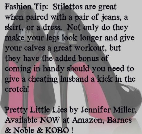 Pretty Little Lies Amazon http://www.amazon.com/Pretty-Little-Lies-Jennifer-Miller-ebook/dp/B00DAPHSXE/ref=sr_1_1?s=books&ie=UTF8&qid=1406296970&sr=1-1&keywords=pretty+little+lies+jennifer+miller B&N http://www.barnesandnoble.com/w/pretty-little-lies-jennifer-miller/1115551167?ean=2940016534138 Kobo - http://store.kobobooks.com/en-US/ebook/pretty-little-lies