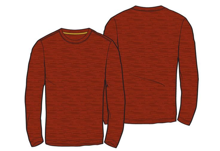 Free Flat Friday: Men's Long Sleeve Knit Shirt