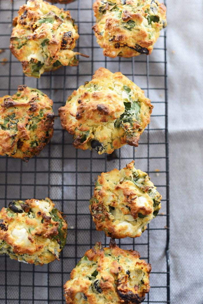 Meat free Monday / savoury muffins | a tactile life