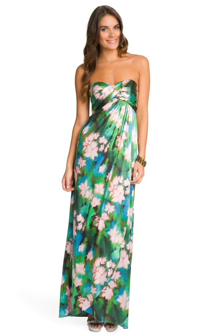 NICOLE MILLER   Rainforest Maxi Dress