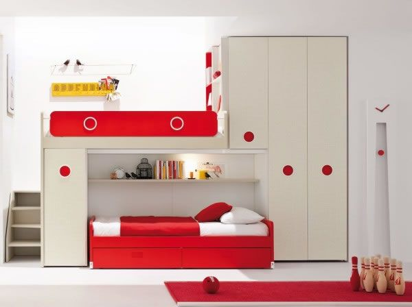 Mejores 69 im genes de kid 39 s bedroom en pinterest - Dormitorios infantiles mixtos ...