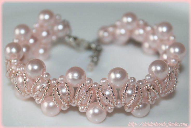 DIY - Beading Royal Elegance Necklace & Bracelet <3 So pretty!