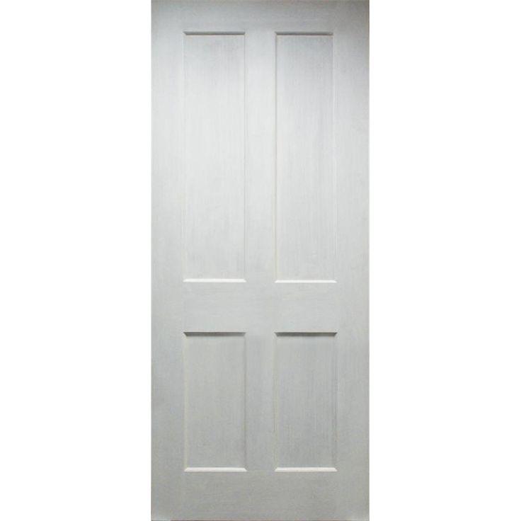 WoodDoor+ Internal Primed White 4-Panel Shaker Evolution Door