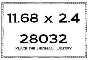 Multiplying and Dividing Decimals Using Number Sense