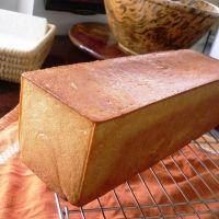 Pullman Loaf Sandwich Bread (Pan de Miga for making sándwiches de miga)
