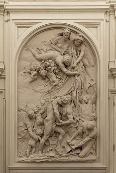 1885. Aimé-Jules Dalou. La Fraternité. Paris. Mairie du 10ème arrondissement. Salle des mariages.