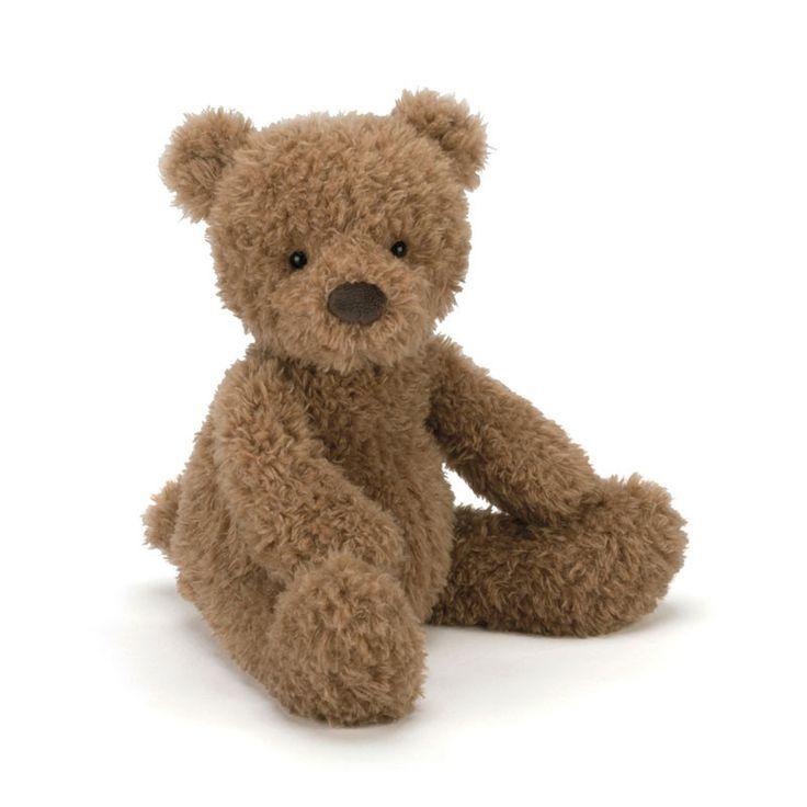Køb Jellycat bamse, Cinnamon bjørn - 32 cm her | LirumLarumLeg