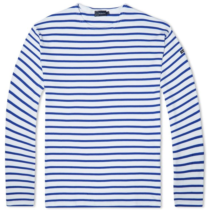 Manufacturers of the only real, authentic Breton Stripe T shirt available, Armor-Lux are still based in the French region of Brittany where they were originally established in 1938. Expertly made in France from an incredibly durable jersey and featuring the iconic striped pattern used by the French navy to locate sailors after falling overboard, the Loctudy is finished off with a woven logo patch at the arm. 100% Cotton Breton Stripe Design Bound Collar Embroidered Logo Patch Made in France