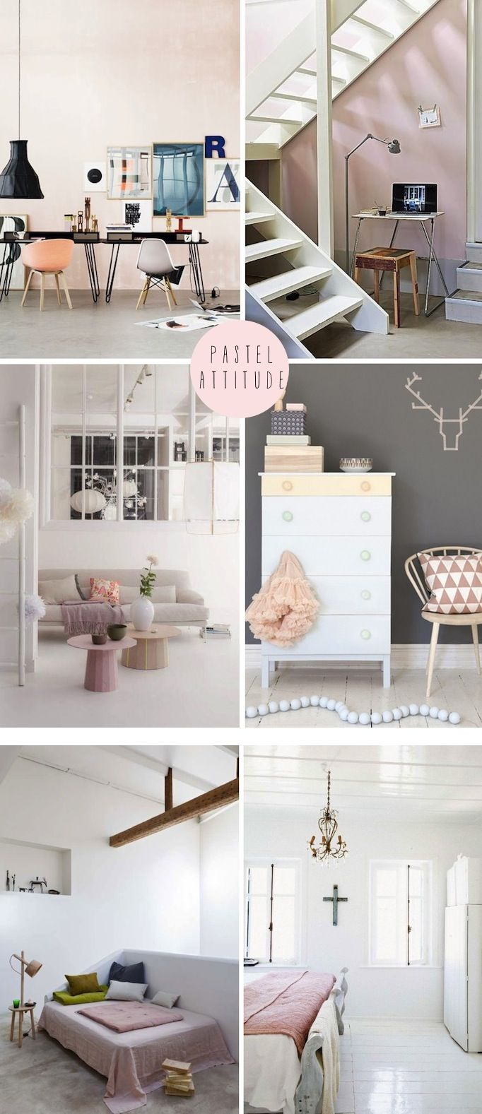 Choosing the paint colour for any direction room angela bunt - French By Design Pastel Attitude