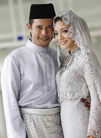 diana-rafar-kahwin-zamarul-nikah